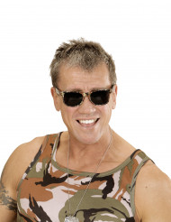 Lunettes camouflage adulte