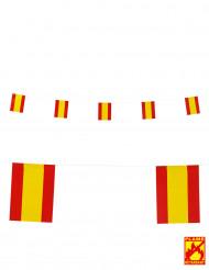 Guirlande drapeaux Espagne 15 X 20 cm