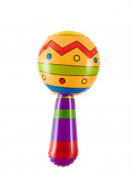 Maracas gonflable 20 cm
