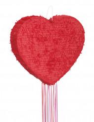 Piñata cœur rouge 56 cm
