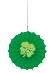 Décoration rosace en papier Saint Patrick