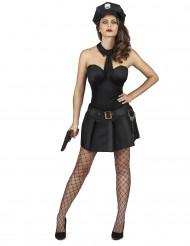 Déguisement agent de police sexy femme