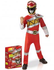 Coffret déguisement luxe Power Rangers Rouge Dino Charge™ enfant