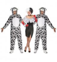 Déguisement de groupe Cruella et ses dalmatiens