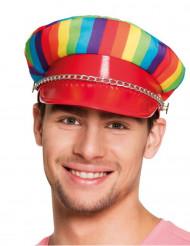 Casquette multicolore adulte