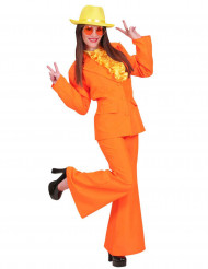 Déguisement costume orange femme