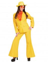 Déguisement costume jaune femme