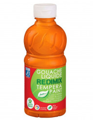 Gouache liquide orange 250 ml Lefranc & Bourgeois®
