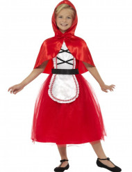 Déguisement chaperon rouge avec cape fille