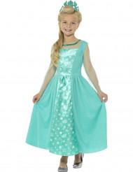 Déguisement princesse glacée bleue fille