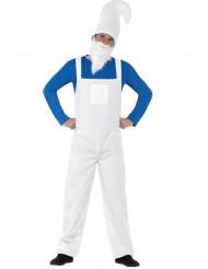 Déguisement gnome bleu et blanc homme