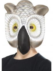 Masque tête de hibou enfant
