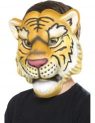 Masque tête de tigre enfant