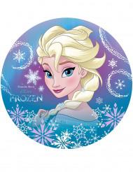 Disque azyme Elsa La Reine des Neiges™ 20 cm