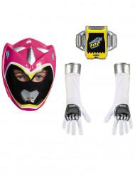 Kit Power Rangers™ Dinocharge rose enfant