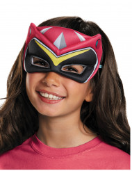 Demi-masque Power Rangers™ Dinocharge rose enfant