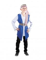 Déguisement pirate bleu garçon