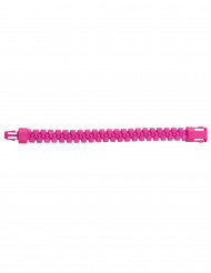 Bracelet zip rose fluo adulte