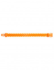 Bracelet zip orange fluo adulte