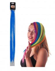 Mèche bleue à clipser pour cheveux