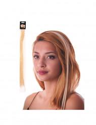 Mèche blonde à clipser pour cheveux