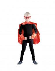 Kit super héros rouge enfant