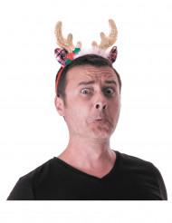 Serre-tête renne glamour adulte Noël