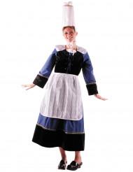 Déguisement bretonne bigouden luxe femme