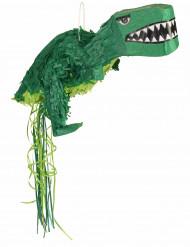 Piñata dinosaure vert