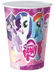 8 Verres en carton My Little Pony ™ 25cl