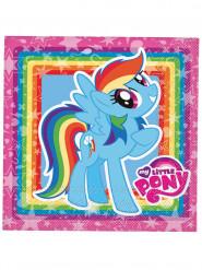 Serviettes en papier My Little Pony ™ 33x33cm