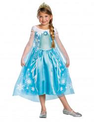 Déguisement luxe Elsa Reine des Neiges™ fille