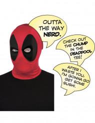 Cagoule luxe Deadpool™ avec bulles adulte