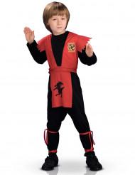 Déguisement ninja courageux garçon