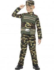 Déguisement militaire camouflé garçon