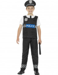 Déguisement policier noir et blanc garçon