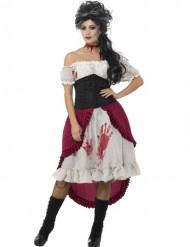 Déguisement pirate fantôme ensanglantée femme Halloween