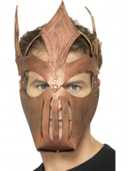 Masque guerrier gladiateur bronze adulte