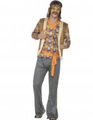 Déguisement chanteur hippie années 60 homme