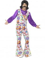 Déguisement hippie cool années 60 homme