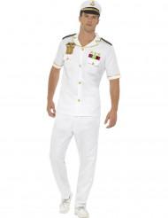 Déguisement capitaine blanc homme
