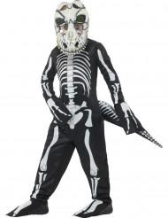 Déguisement tyrannosaure squelette enfant Halloween