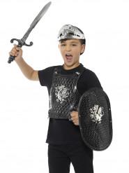 Kit chevalier noir luxe enfant