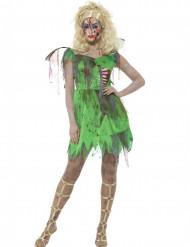 Déguisement fée verte zombie femme Halloween