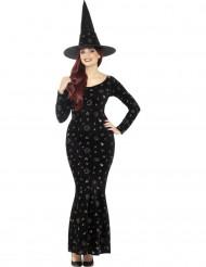 Déguisement sorcière magie noire femme Halloween