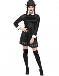 Déguisement écolière gothique femme Halloween