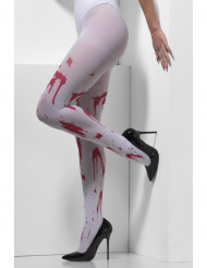 Collants ensanglantés adulte Halloween