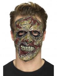 Prothèse en mousse latex zombie adulte Halloween