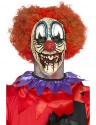 Prothèse en mousse latex clown sinistre adulte Halloween