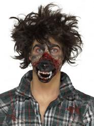 Prothèse en mousse latex bouche loup-garou adulte Halloween